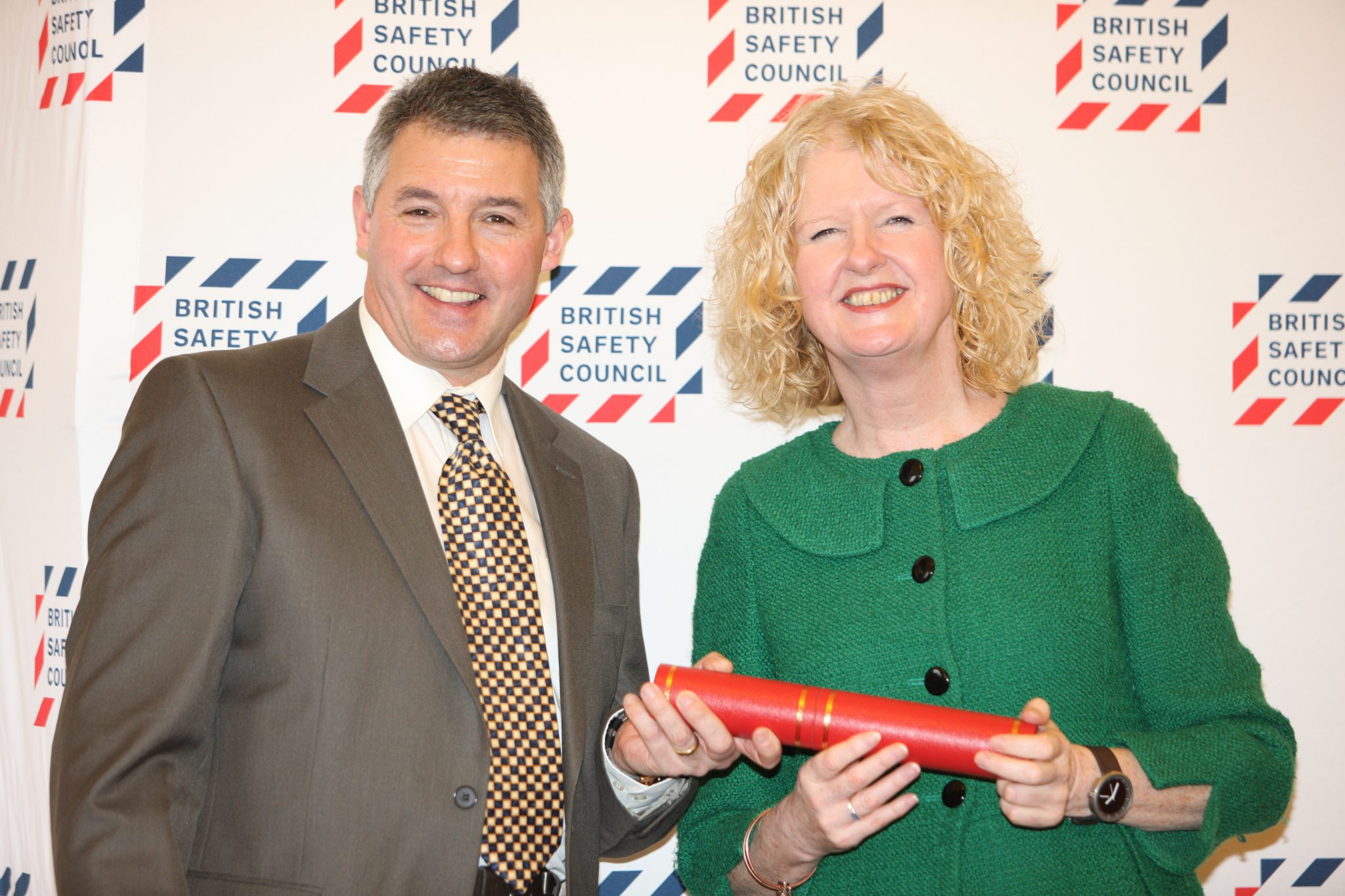 Celebrating a Five Star Grading in the British Safety Council's Five Star Occupational Health and Safety Audit