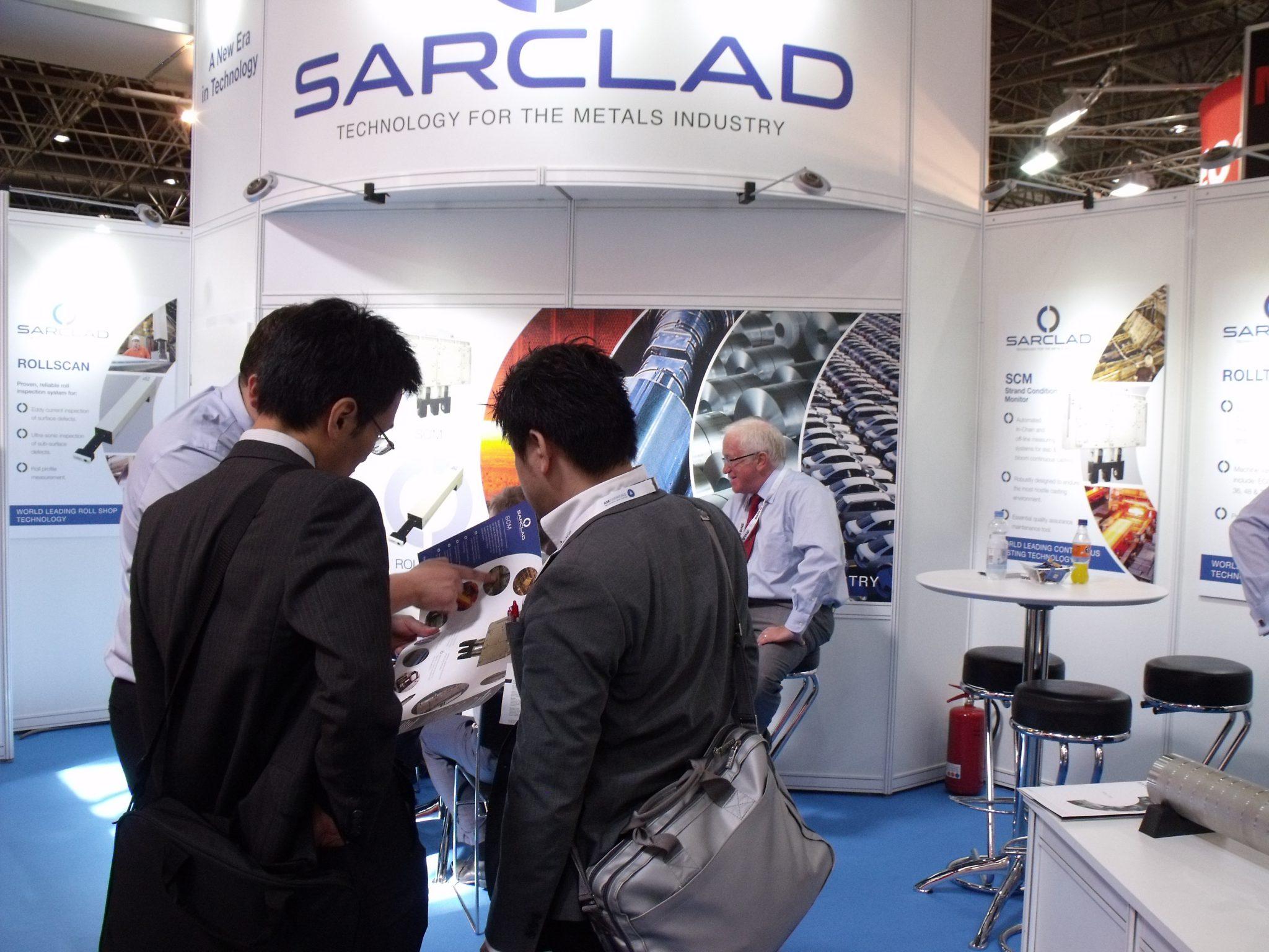 Sarclad attend METEC 2015 in Dusseldorf Germany