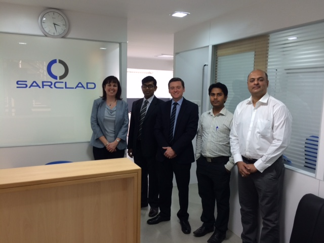 Sarclad Opens New India Office in Bangalore