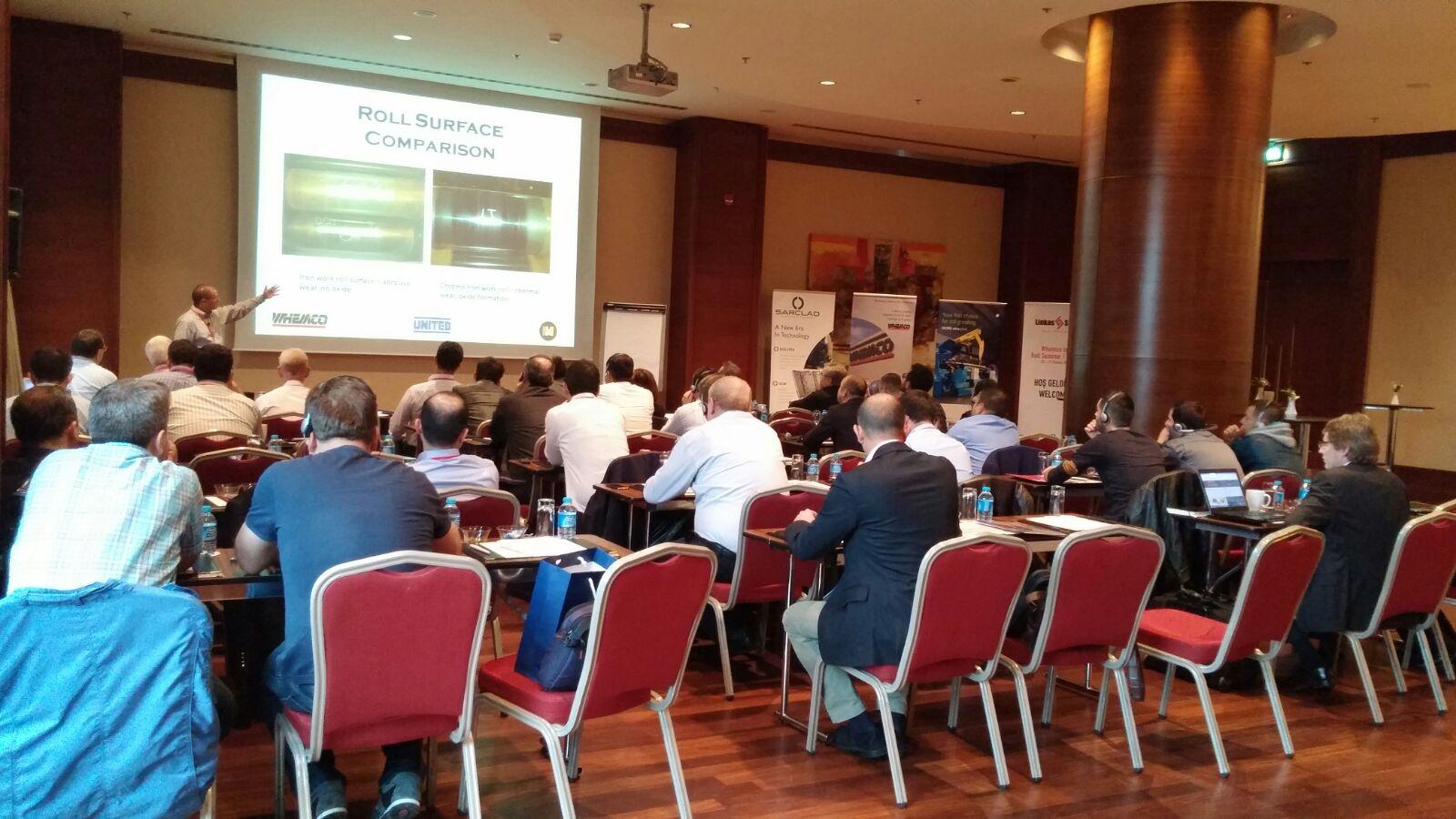 Sarclad Attend the 2015 Whemco Roll Seminar in Turkey
