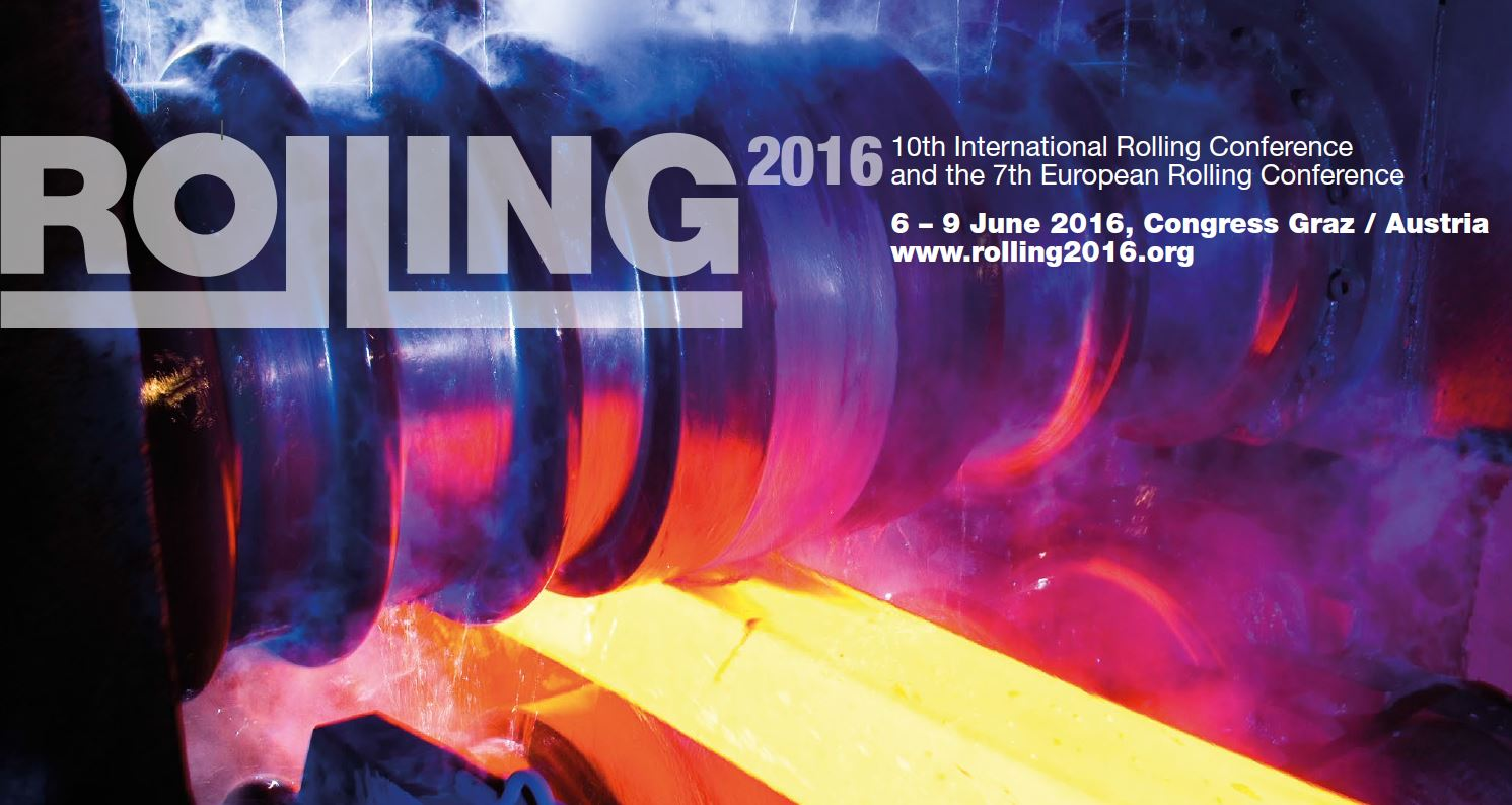 10th International Rolling Conference – June 6-9 2016