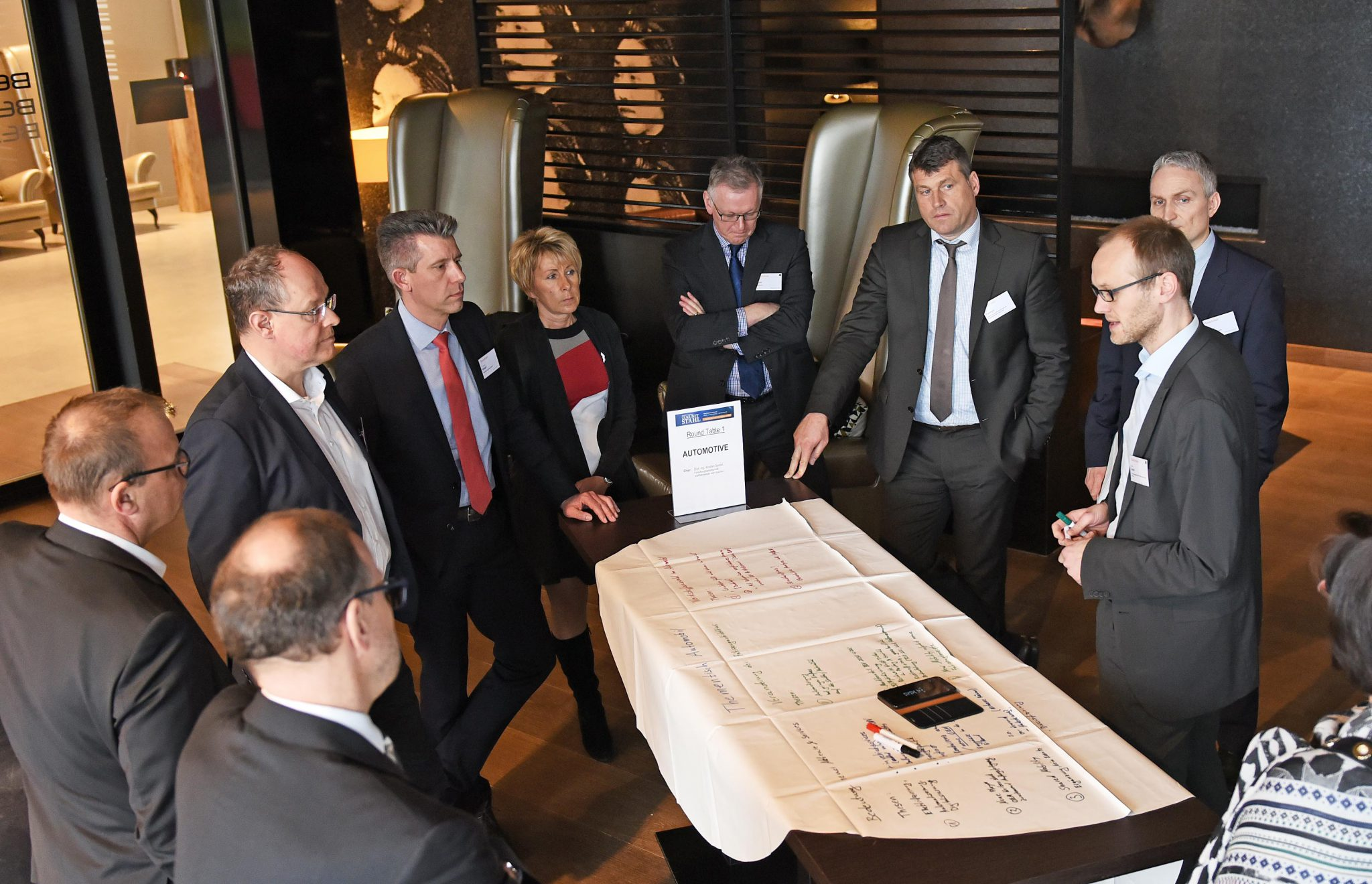Texture Quality Management System is Presented at Future of Steel Conference, Dusseldorf